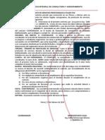 Contrato de Servicios Profesionales a Plazo Fijo