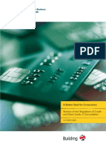 Credit and store card consultation