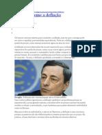 + A Europa teme a deflação