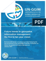 UN-GGIM Future Trends Paper - Version 2.0