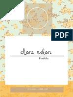 Clare Askar- Design Portfolio