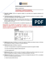 PRACTICA DIRIGIDA REGRESIÓN Y CORRELACIÓN MULTIPLE Y MODELAMIENTO
