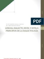 Lengua Dialecto Estilo 2014