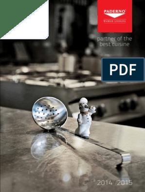 Antiaderente PADERNO 11741-24 Teglia Pizza 24 cm 2 Strati