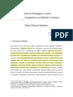 Maria_Manuel_Baptista Pela mão de Heidegger e Lacan... Ontologia e Imaginário em Eduardo Lourenço