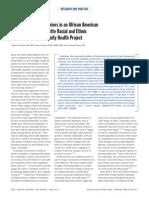 Plescia Et Al - Imroving Health Behaviors in AA Community
