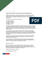 Inscripcion Contratistas y Constructores