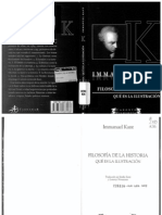 KANT - Filosofia de La Historia & Que Es La Ilustracion - Terramar