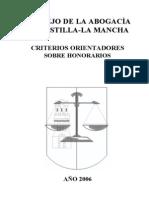 Abogados Honorarios_2006 en C-Lmancha