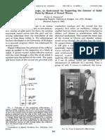 Firestone 1946 Supersonic Reflectoscope