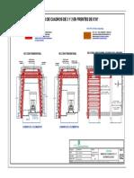 2. Estandar Armado de Cuadros de 3 y 2 Elementos en Frentes de 8' x 8-Model