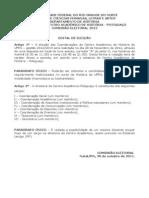 Edital2012 - Eleições do Centro Acadêmico - Potiguaçu