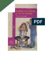 1 Paula Danziger - Ambar en Cuarto y Sin Su Amigo