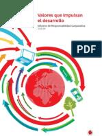 Vodafone España Informe de RSC 2008-09