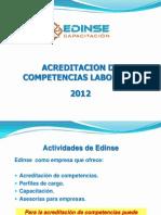 Acreditacion Competencias Edinse 2