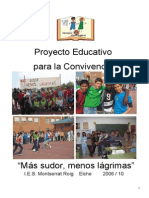 Proyecto Monserrat Para La Convivenciqa
