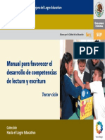 SEP Manual Para Favorecer La Lectoescritura 3