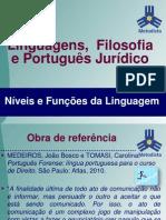 Níveis e funções da linguagem