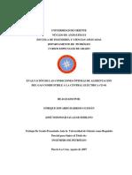 Evaluación de las condiciones óptimas de alimentación del gas combustible a la central eléctrica ce-01