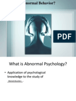 Chapter 1 - Abnormal Psychology