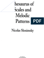 Nicolas Slonimsky - Thesaurus of Scales and Melodic Patterns(1)