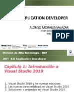 PPT01 Introducción a Visual Studio 2010