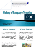 MEPILE I - Unit 1 History of Language Teaching