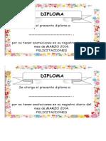 Diploma Registro Diario