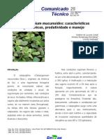 Manejo de Calopogonium mucunoides em Roraima