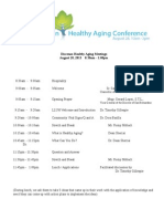 diocese and healthy aging conference agenda copy
