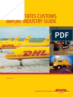 Dhl Us Customs Import Guide