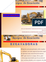 Curso Equipos Excavacion Perforador Cuchara Excavadoras