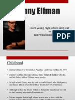 danny elfman biography