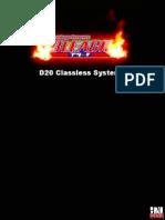 Bleach d20 Classless