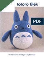 Modele Patron Crochet Gratuit Totoro Lucy Ravenscar