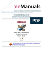 User Manual Solidworks Solidcam 5 Axis e