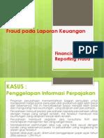 Financial Reporting Fraud