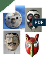 Proyecto de cerámica - máscaras 2