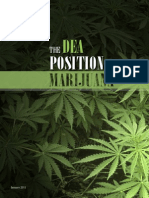 The DEA Position on Marijuana