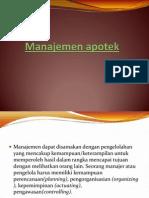 Manajemen apotek