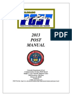 Colorado Peace Officer Manual 2013