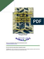 Administracion de La Poduccion Como Ventaja Competitiva