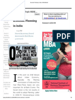 Economic Planning in India _ Gr8AmbitionZ