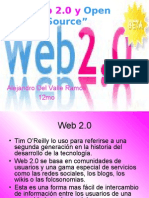 Web 2.0 y Open Source
