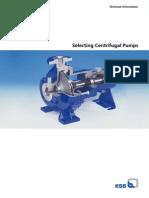 KSB Selecting Centrifugal Pumps Design Manual