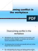 Overcoming Conflict in the Workplace(DSMT)