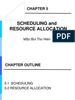 Chapter 5_ Scheduling and Resource Allocation