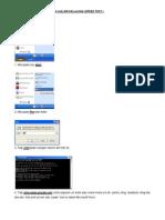 Tatacara Ping Dan Printscreen