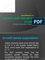 India's GDP growth story