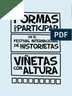 Formas de participar en Viñetas con Altura 2014